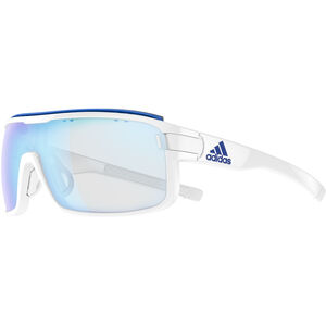 adidas Zonyk Pro Glasses L white shiny/vario blue white shiny/vario blue