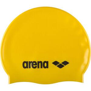 arena Classic Silicone Swimming Cap Kinder yellow-black yellow-black
