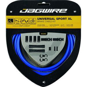 Jagwire Sport XL Universal Bremszugset für Shimano/SRAM blau