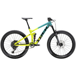 Trek Remedy 8 27.5 teal to volt fade teal to volt fade