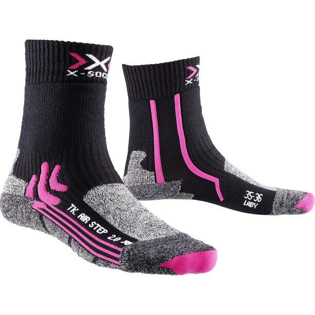X-Bionic Air Step 2.0 Trekking Socks Damen black/fuchsia black/fuchsia