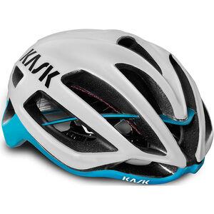Kask Protone Helm weiß/hellblau bei fahrrad.de Online