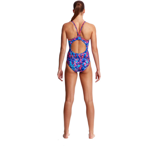 Funkita Diamond Back One Piece Swimsuit Damen rusted