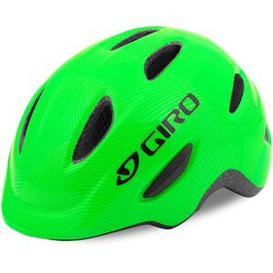 Giro Scamp Helmet green/lime lines