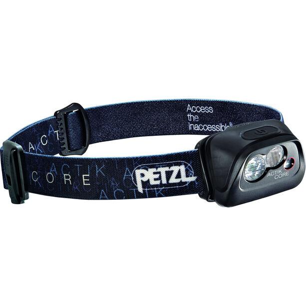 Petzl Actik Core Stirnlampe schwarz