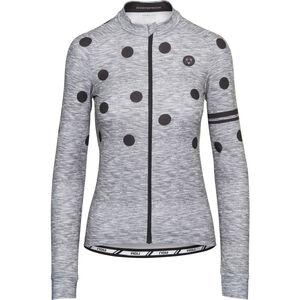 AGU Essential Dot Longsleeve Jersey Damen melange dove grey melange dove grey