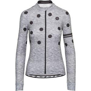 AGU Essential Dot Longsleeve Jersey Damen melange dove grey melange dove grey