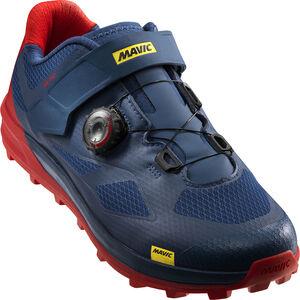 Mavic XA Pro Shoes Men Majolica Blue/Majolica Blue/Fiery Red bei fahrrad.de Online