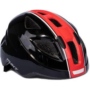 Puky PH 8 Helm Kinder schwarz/rot schwarz/rot