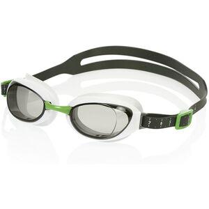 speedo Aquapure Mirror Goggles white/smoke