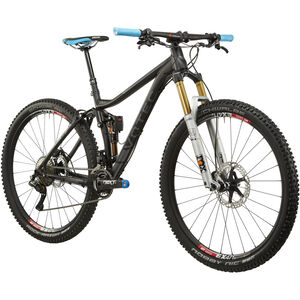 VOTEC VX Evo Trail Fully anodized black matt/dark grey glossy anodized black matt/dark grey glossy