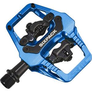 Sixpack Vertic Trail Pedale blue blue