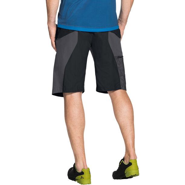VAUDE Downieville Shorts Herren black/anthracite print