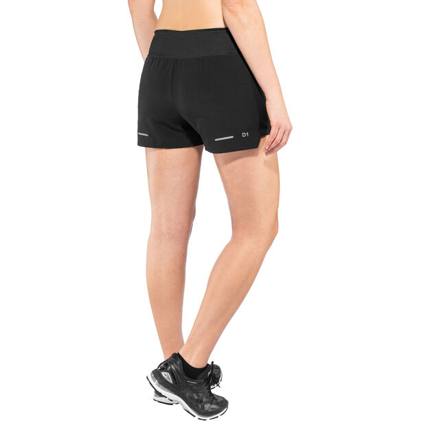 "asics 3,5"" Shorts Damen performance black"