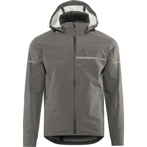 Shimano Transit Hardshell Jacket Men raven