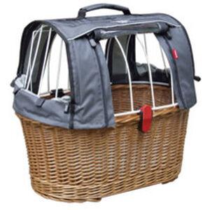 KlickFix Doggy Basket Plus Fix braun