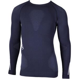 UYN Ambityon UW LS Shirt Herren deep blue/avio/white deep blue/avio/white