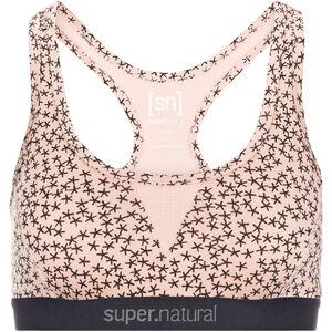 super.natural Semplice 220 Print Sports Bra Women blush/blush stars blush/blush stars