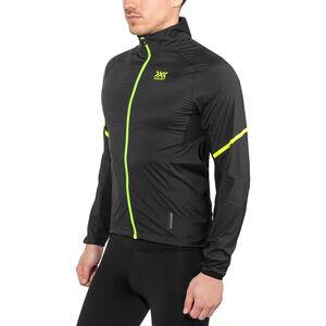 X-Bionic Spherewind Pro Running Jacket Men Black/Neon Yellow bei fahrrad.de Online