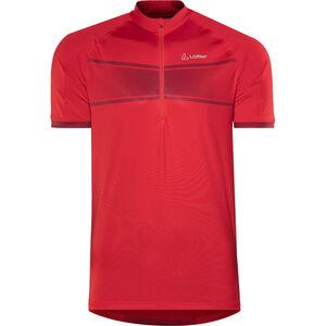 Löffler Hotbond Running Zip-Shirt Herren rot bei fahrrad.de Online