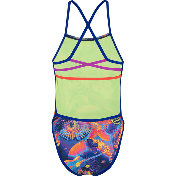 speedo Hi Five Flash Ribbonback Swimsuit Damen
