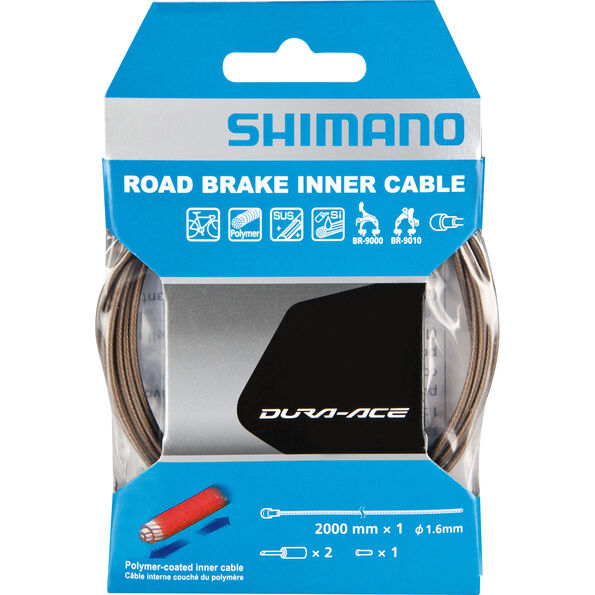 Shimano Dura-Ace BC-9000 Bremszug Polymer beschichtet