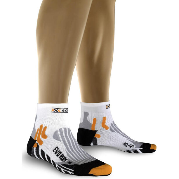 X-Bionic Evo Run Running Socks white/black
