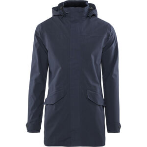 AGU Urban Outdoor Long Parka Herren navy blue navy blue