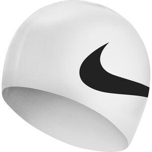 Nike Swim Big Swoosh Printed Silicon Cap black black