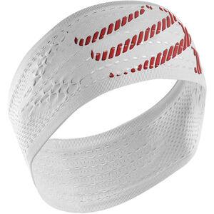 Compressport On/Off Headband white white