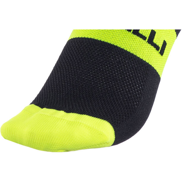 Castelli Rossocorsa 13 Socks black/yellow fluo