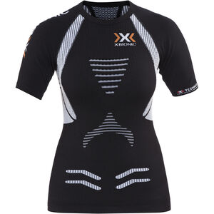 X-Bionic The Trick Running Shirt Shortsleeves Damen black/white black/white