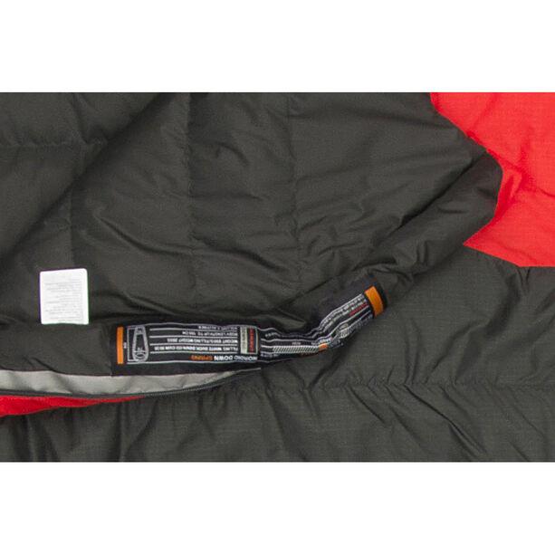 Mammut Nordic Down Spring Sleeping Bag 180cm graphite-fire