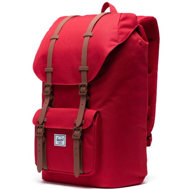 Herschel Little America Backpack red/saddle brown