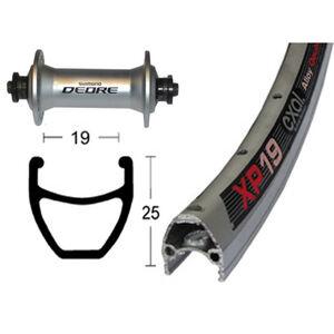 Exal XP-19 Vorderrad 28x1.75 Deore silber bei fahrrad.de Online
