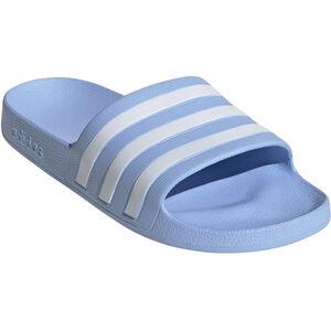 adidas Adilette Aqua Slides Damen glossy blue/footwear white/glossy blue glossy blue/footwear white/glossy blue