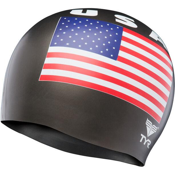 TYR USA Silicone Cap black