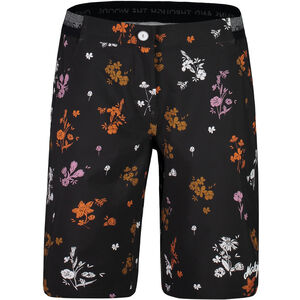 Maloja NeisaM. Printed Multisport Shorts Damen moonless mountain meadow moonless mountain meadow