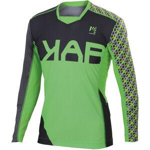 Karpos Jump LS Jersey Herren green fluo/dark grey green fluo/dark grey