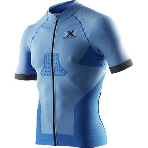 X-Bionic Race EVO Fahrrad Trikot SS Herren marina blue/anthracite marina blue/anthracite