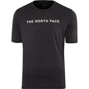 The North Face Train N Logo SS Tee Herren tnf black heather tnf black heather