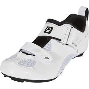 Bontrager Lohi Triathlon Shoes Damen white white