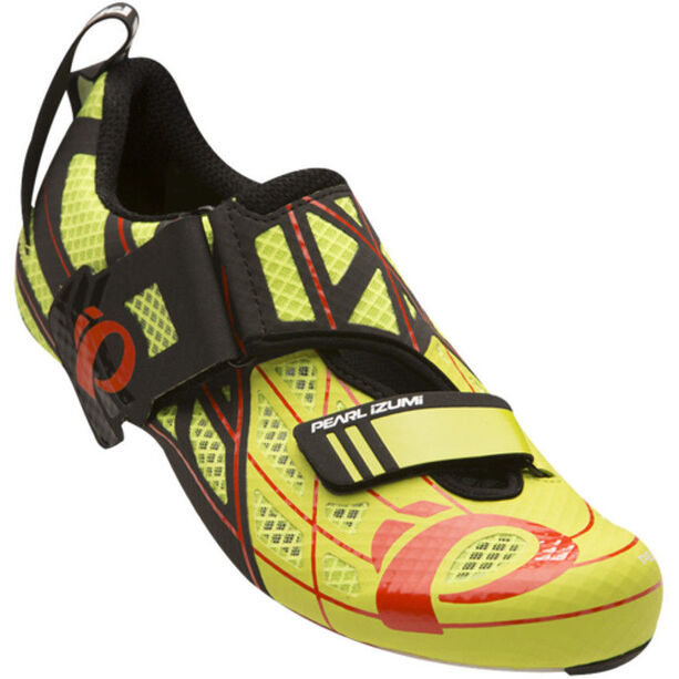 PEARL iZUMi Tri Fly Pro V3 Shoes lime punch/black