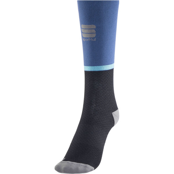 Sportful Giara 15 Socks blue denim/black