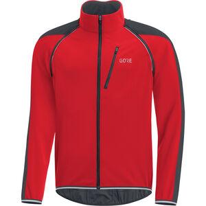 GORE WEAR C3 Windstopper Phantom Zip-Off Jacket Men red/black