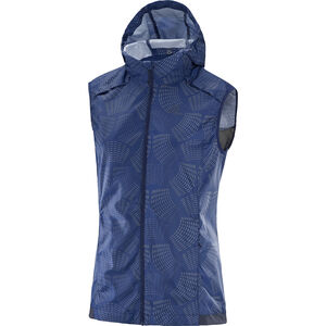 Salomon Agile Wind Vest Women Medieval Blue bei fahrrad.de Online