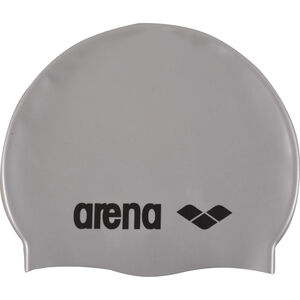 arena Classic Silicone Swimming Cap Juniors silver-black bei fahrrad.de Online