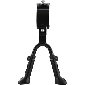 "Red Cycling Products Adjustable Double Leg Kickstand 24-28"" schwarz schwarz"