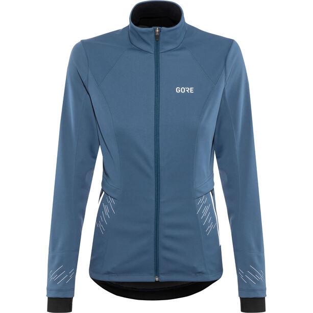GORE WEAR R5 Windstopper Jacket Damen deep water blue