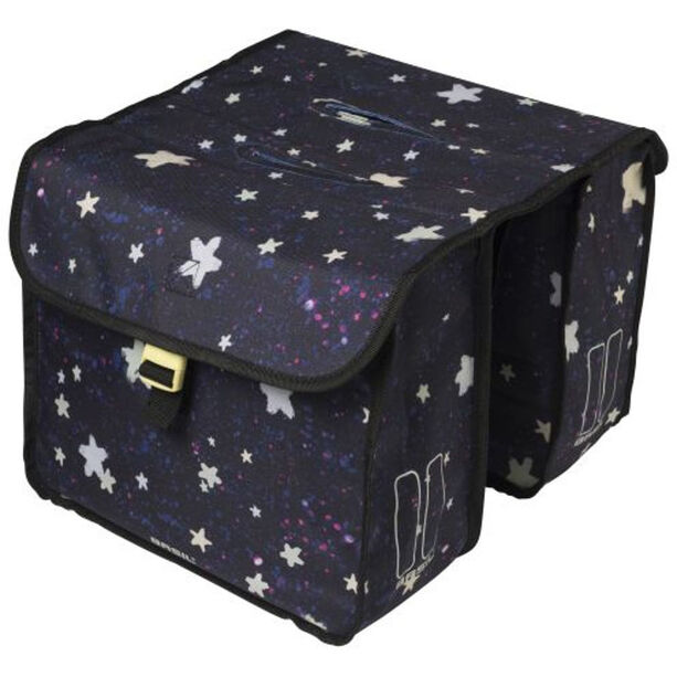 Basil Stardust Luggage Pannier Double Bag 20l Kids nightshade